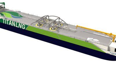 Le port d'Anvers va se doter d'un ponton de soutage GNL (source : l'antenne)