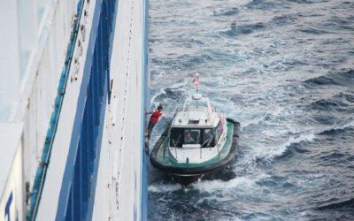 Les pilotes associés à la sûreté portuaire (source l'antenne)