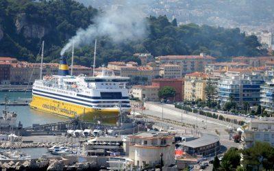 La métropole Nice Côte d'Azur et Corsica ferries d'accord pour limiter la pollution au port (source Nice Matin)