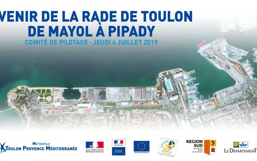 Avenir de la Rade de Toulon de Mayol à Pipady (source TPM)