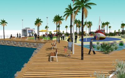 Au Mourillon, un futur jardin ouvert sur la rade de Toulon (source Var Matin)
