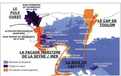 Historique des occasions ratées de transférer le trafic ferries vers Brégaillon